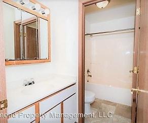 Bathroom, Sylvan Glen Apartments
