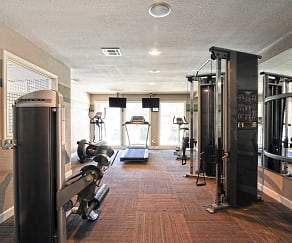 Fitness Weight Room, Fountains At Waterford