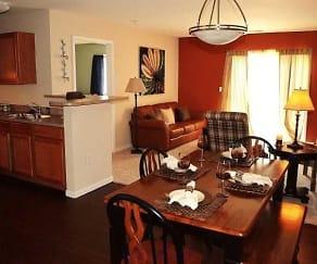Dining Room, Wildwood Meadows Apartments