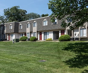Building, Evergreen Terrace Apartments and Townhomes