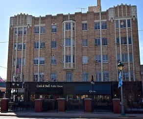 Building, Hyde Park Terrace