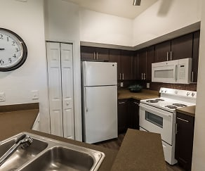 Kitchen, Rivertree Apartments