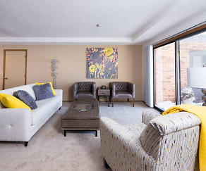 Living Room, Tanager Creek Townhomes