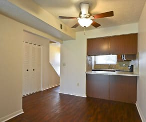 Dining Room, Laurelwood Apartments