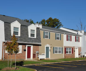 Building, Middle River Townhomes