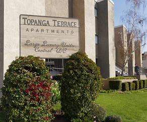 Community Signage, Topanga Terrace Apartments