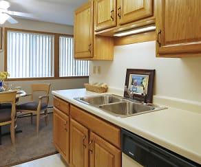 Kitchen, Eastview Apartments
