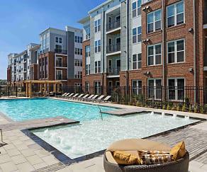 Pool, Flats170 At Academy Yard