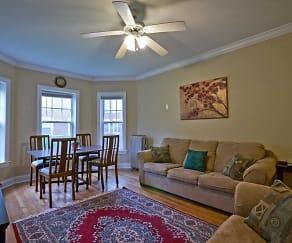 Living Room, 1303 Maple