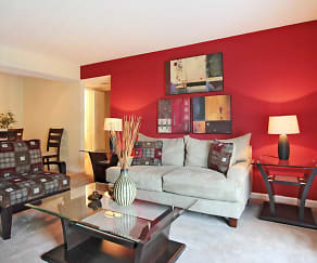 Living Room, Devonwood Apartment Homes