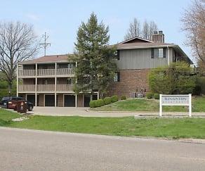 Building, Kingston Apartments