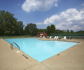 Pool, High Point In The Park Apartments