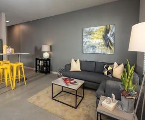 Living Room, Mason at the Hive