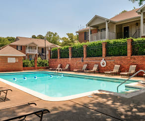 Pool, Turtle Place Apartments