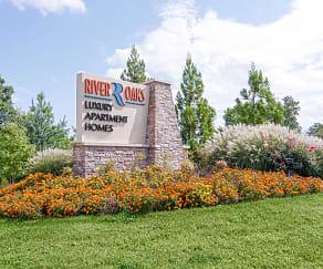 Community Signage, River Oaks