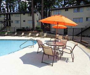 Buckhead Plaza Apartments, Pine Hills, Atlanta, GA