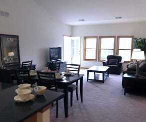 Dining / Living Room, Dodson Place