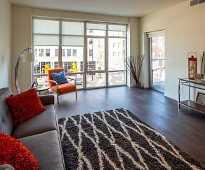 Living Room, Metreau Apartments