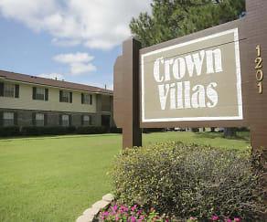 Community Signage, Crown Villas Apartments