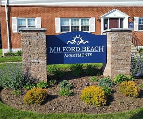 Community Signage, Milford Beach