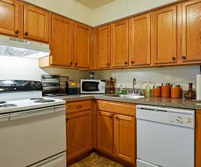 Kitchen, Valley Ridge Apartments