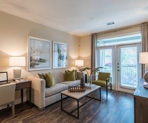 Living Room, 77054 Luxury Properties