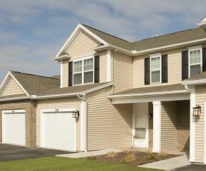 Building, Long Pond Shores Townhouses & Apartments