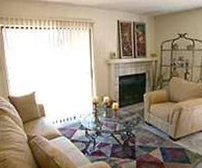 Living Room, Riverbend Apartments