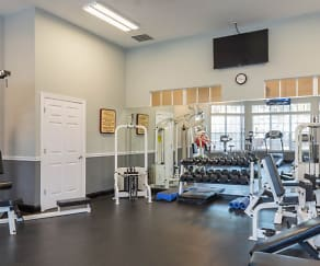 Fitness Weight Room, The Highlands at Heathbrook
