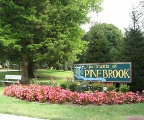 Community Signage, Apartments At Pine Brook