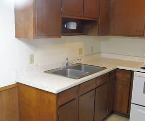 Kitchen, North Park Apartments