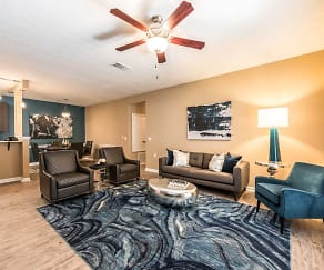 Living Room, Canebrake Apartments
