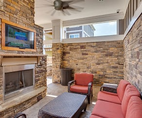 Pool-Side Lounge, Pavilion Village Apartments
