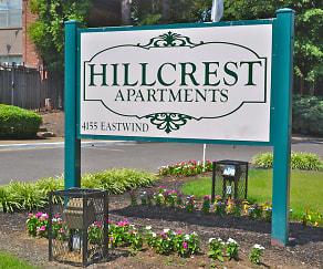 Community Signage, Hillcrest
