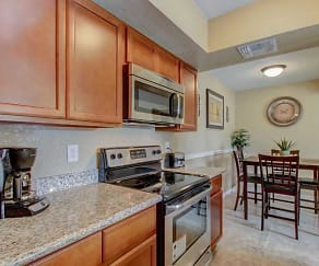 Kitchen, Cedar Creek Condominium Rentals