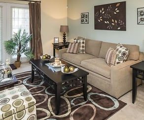 Living Room, Grand Arbor Reserve Apartment Homes