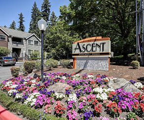 Community Signage, Ascent Apartment Homes