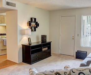 Bedroom, Woodridge Apartments