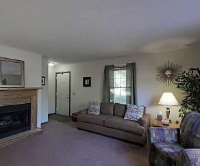 Living Room, Remington Station Townhouses