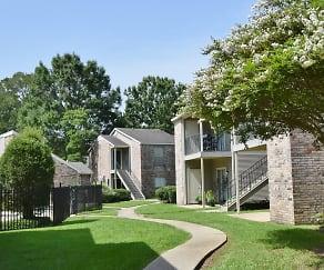 Building, Afton Oaks Apartments