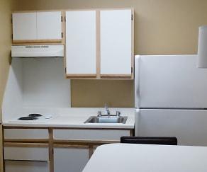 Kitchen, Furnished Studio - Dallas - Coit Road