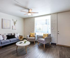 Living Room, GC Square Furnished Apartments