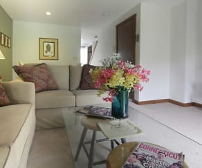 Living Room, Cornfield Apartments