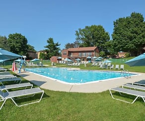 Pool, Powder Mill Apartments