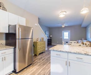 Kitchen, Waterford Townhomes