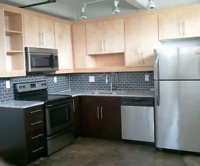 Kitchen, Star Lofts