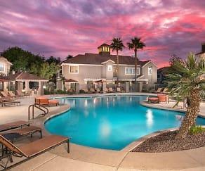 Pool, Villas on Hampton Avenue