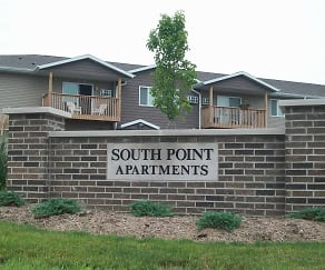 Building, South Point Apartments