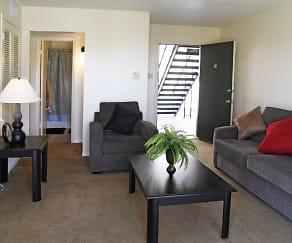 Kitchen, Overlook Apartments