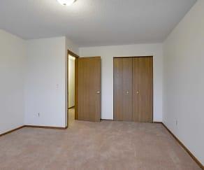 Bedroom, Rainbow Plaza Apartments